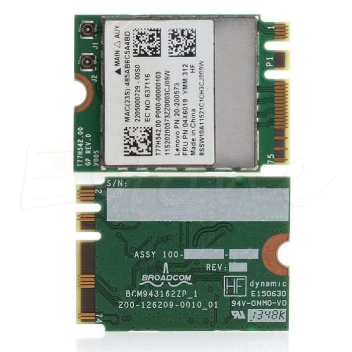 Jual Bluetooth 4 0 Wireless Dual-band WIFI Card for Lenovo G50-30 45 70 -  Kota Surabaya - Twenty__Store | Tokopedia