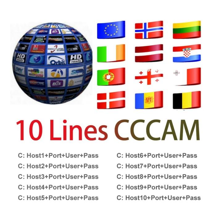 Jual 1 Year line Europe 10 lines Card sharing Server Mgcam Oscam Cccams -  Kota Surabaya - Fokus_Store | Tokopedia