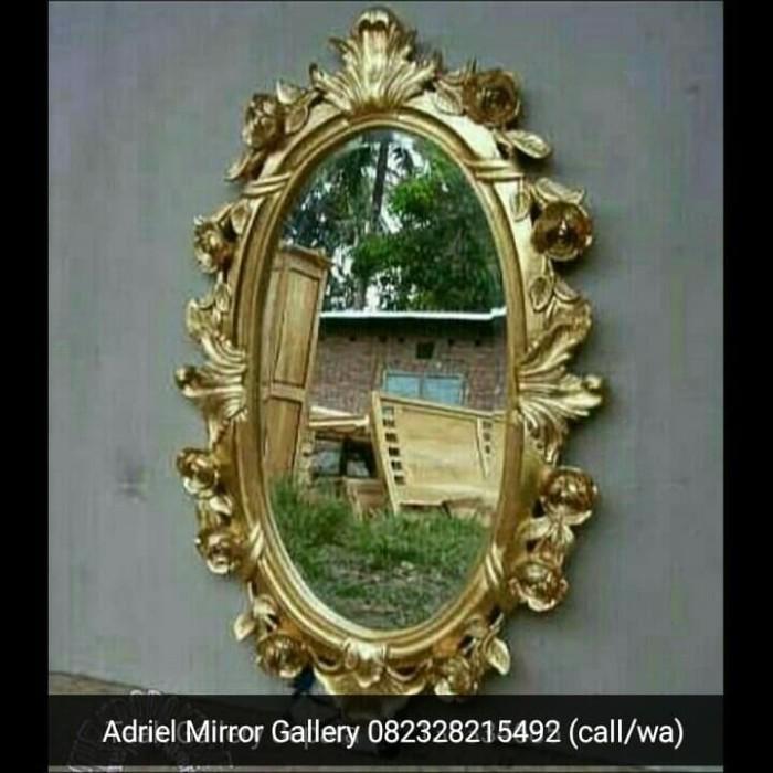 Jual Cermin Hias Ukir Cantik Gold Mewah Mirror Frame Figura Kayu Kab Jepara Adriel Mirror Gallery Tokopedia