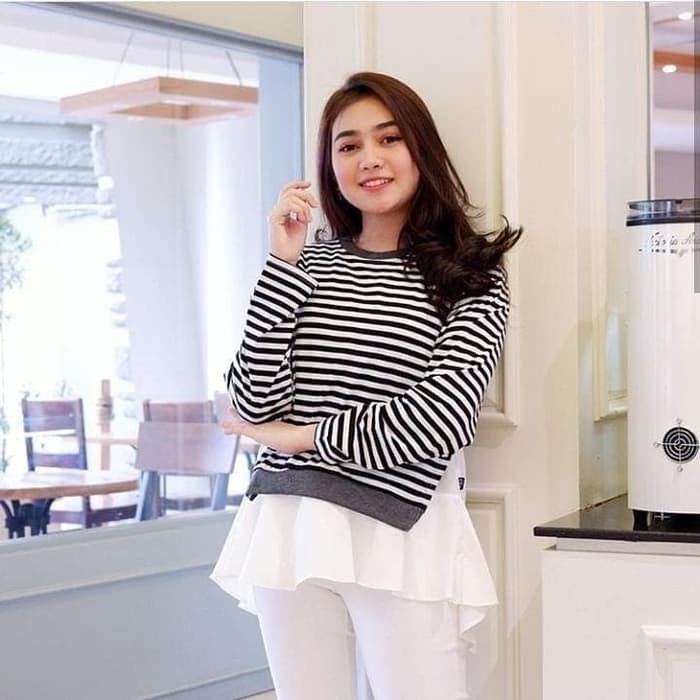 Jual Baju casual wanita / atasan kaos murah / Baju korea terbaru ...