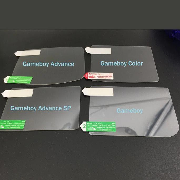 Jual HOT SALE Screen Protector Gameboy Color, Advance, SP GB GBC GBA GBA SP  - DKI Jakarta - anidityaputri37 shop | Tokopedia