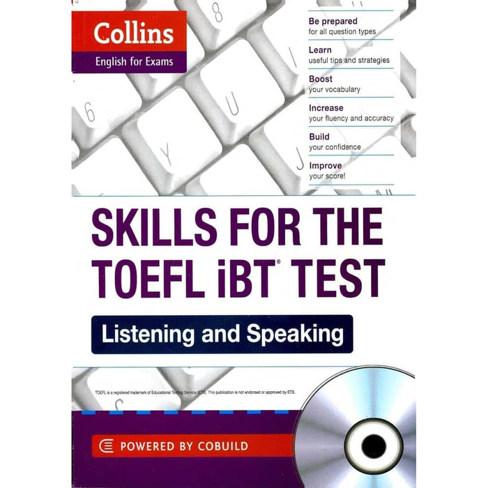 Jual COLLINS Skills for the TOEFL iBT + Vocabulary + Grammar + Audio CD -  Kota Yogyakarta - gdrive book | Tokopedia