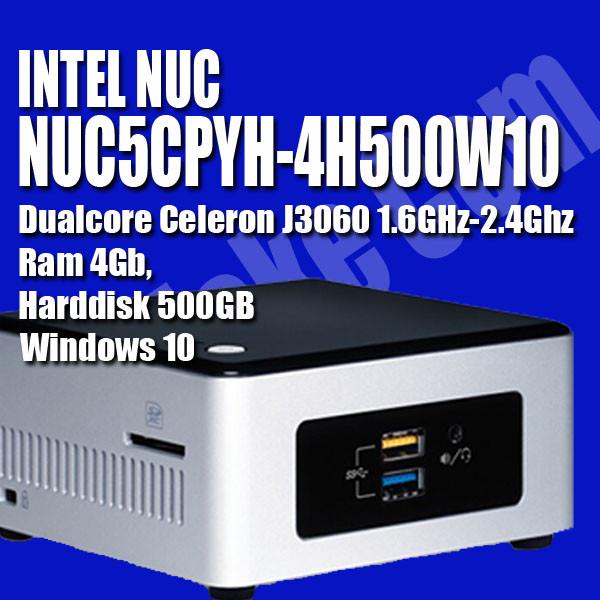 harga Mini pc intel nuc5cpyh-4h500w10 - windows 10 Tokopedia.com