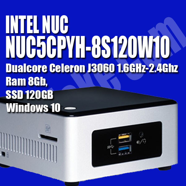 harga Intel nuc5cpyh-8s120w10 windows 10 minipc dualcore Tokopedia.com