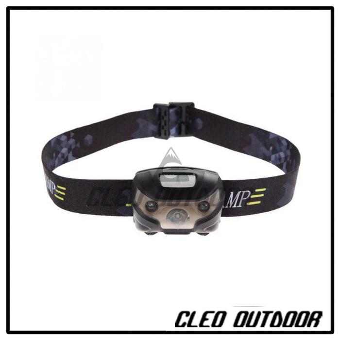 Foto Produk Headlamp Outdoor Dengan Sensor Gerak dari Cleo Outdoor Adventure