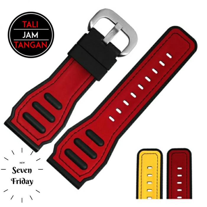 Jual 28mm Seven 7 Friday Rubber Strap Tali Jam Tangan Karet - Kota ...