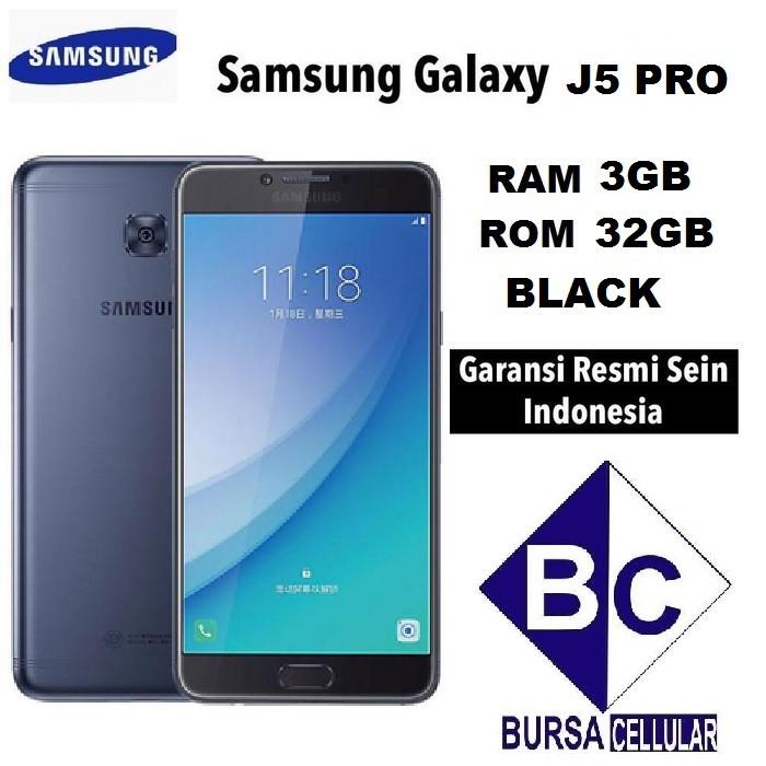 Foto Produk SAMSUNG GALAXY J5 PRO BLACK GARANSI RESMI 1 TAHUN dari bursacell1875