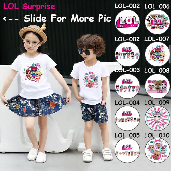 Foto Produk Kaos / Baju Anak LOL Surprise [Unisex] - 5 Motif/Design - dari Little Orca