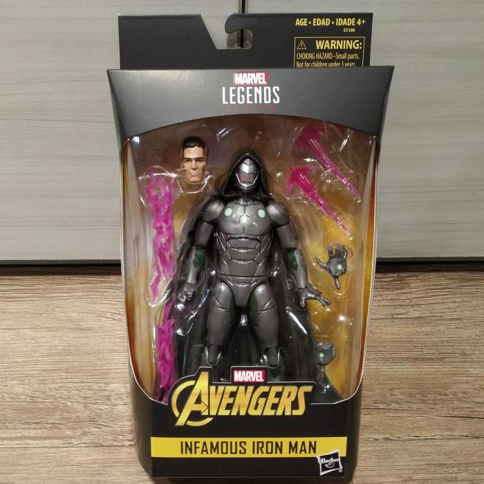 """In-Hand Marvel Legends 6/"""" Inch Doctor Doom Infamous Iron Man Action Figure"""