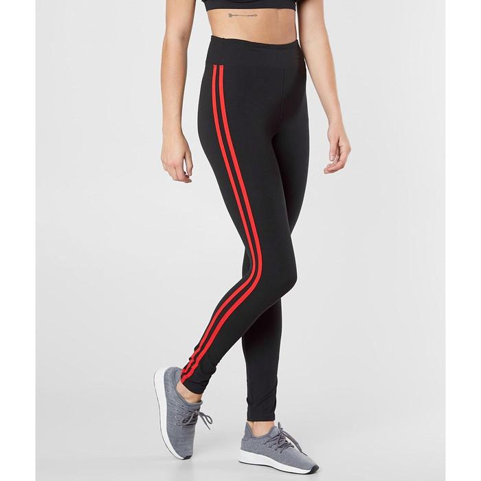 jual legging strip list cotton spandex bodies sportswear