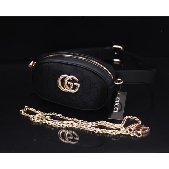 f06698d1a752de Harga Jual Tas Wanita Tas Batam Import Gucci Belt Nagita Mini Canvas ...