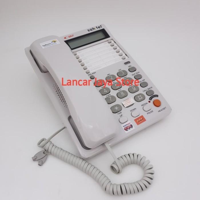 harga Sahitel s75 putih / telepon rumah sahitel s-75 (white) Tokopedia.com