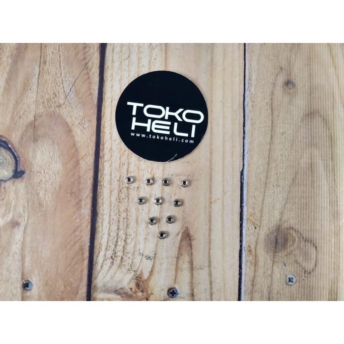 Foto Produk Steel M1.6 Hex Locknut Lock Nut dari TokoHELI