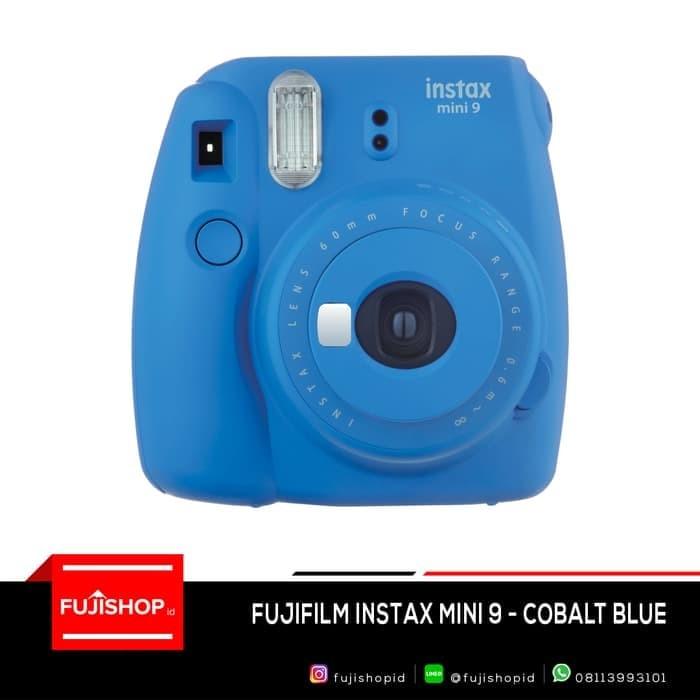 harga Fujifilm instax mini 9 + 1pax paper garansi fujifilm indonesia 1th - biru Tokopedia.com