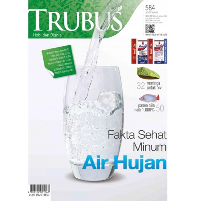harga Majalah trubus 583 - fakta sehat minum air hujan Tokopedia.com