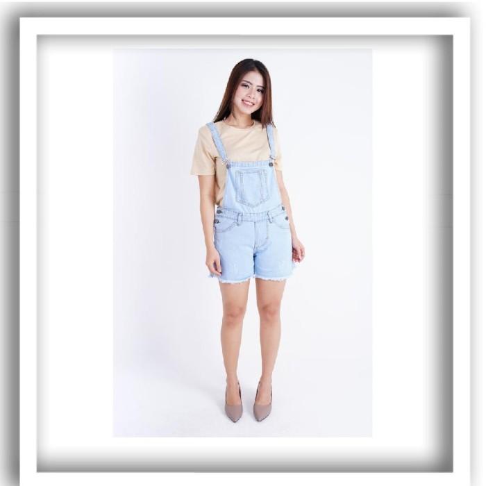 Jual Jumpsuit Overall Jeans Wanita Jumbo Kekinian Terbaru Untuk Orang Gemuk Kab Sidoarjo Gayaonline Tokopedia