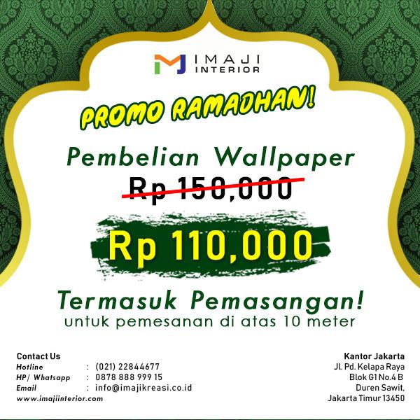 Jual Wallpaper Jakarta Timur Imaji Promosi Tokopedia
