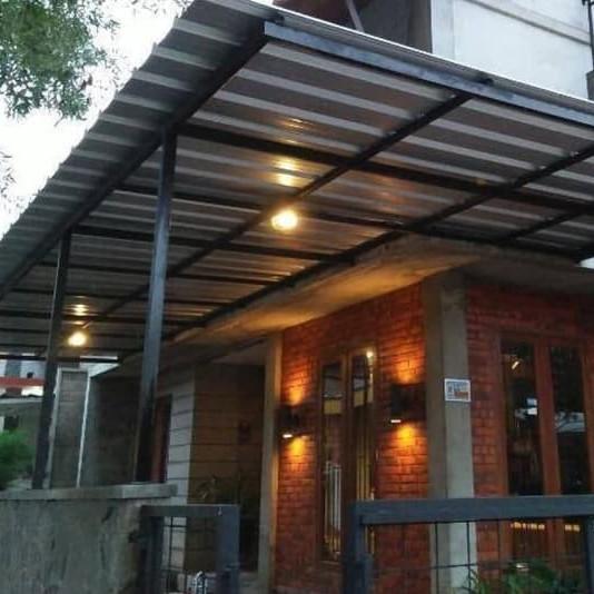 Jual Kanopi Besi Atap Spandek Jakarta Selatan Permata Kreasi