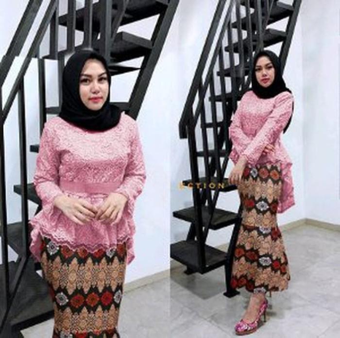 Jual Stelan Kebaya Wanita Baju Atasan Brukat Rok Batik Model Duyung Diskon Jakarta Pusat Vinces Shop Tokopedia
