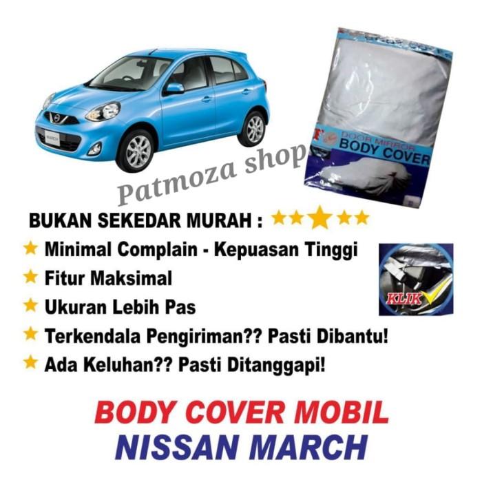 Foto Produk Body cover (Sarung Penutup) NISSAN MARCH untuk Mobil Kesayangan dari Patmoza shop
