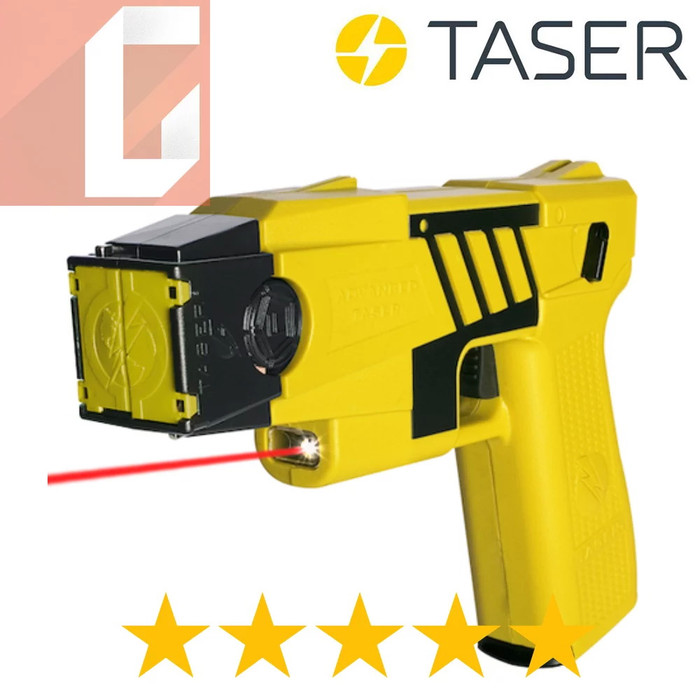 TASER M26C KIT - YELLOW BLACK COLOR Genuine Taser Stun Gun Made In USA
