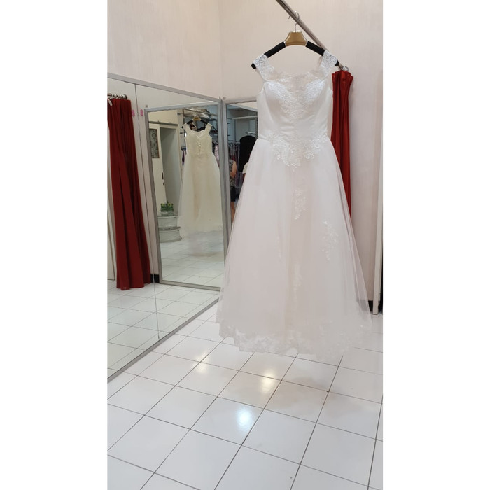 Wedding Gown Surabaya: Jual Wedding Dress Vm007