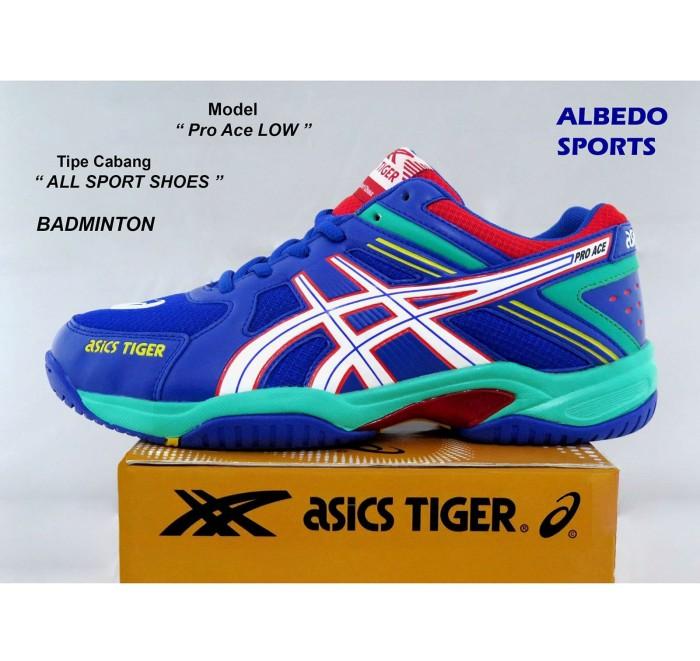 Jual Sepatu Asics Tiger Pro Ace Low Ori Badminton Bulutangkis