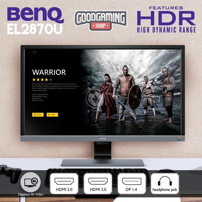 Jual BenQ EL2870U 4K Video Enjoyment Monitor with Eye-care Technology 27
