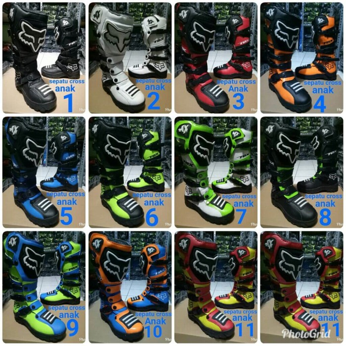 harga Sepatu cross anak model lokal Tokopedia.com