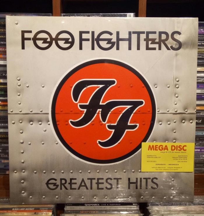 harga Lp foo fighters - greatest hits (2lp) album vinyl piringan hitam Tokopedia.com