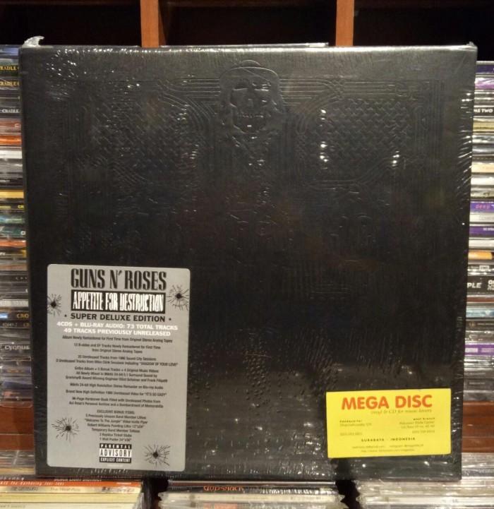 Jual Guns N Roses - Appetite for Destruction Boxset Super Deluxe Edition -  Kota Surabaya - Mega Disc | Tokopedia