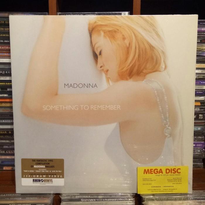 harga Lp madonna - something to remember album vinyl piringan hitam Tokopedia.com