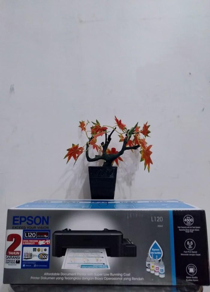 harga Printer epson l120 print - ink jet printer (t664 series) ( original ) Tokopedia.com