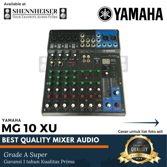 harga Mixer yamaha mg 10 xu mixer audio Tokopedia.com