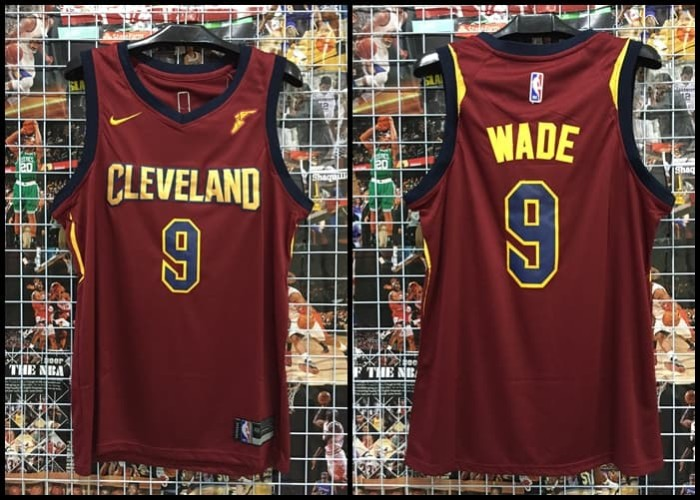 best sneakers 1e433 a099a Jual JERSEY NBA CLEVELAND #9 WADE MAROON 17-18 - Kota Batam -  Kwek.Nelsonshop   Tokopedia