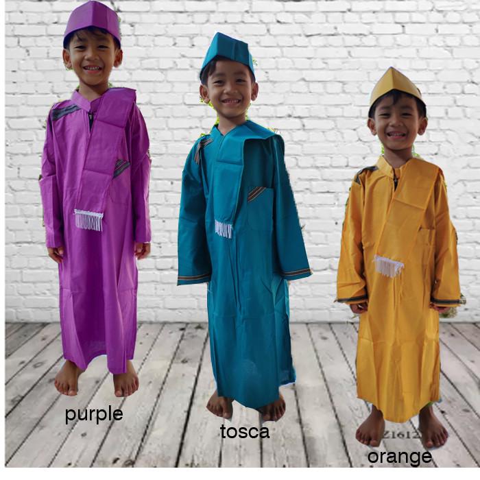 Foto Produk Gamis Koko Turki Anak Laki Laki /Jubah Habib Anak 1 sd 6 Tahun dari BABY AY SHOP