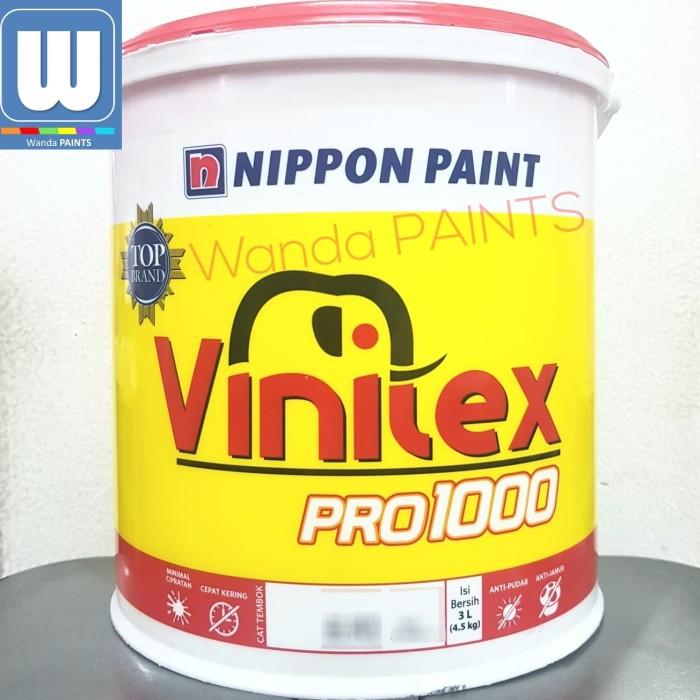 harga Cat tembok vinilex pro 1000 5kg - nippon paint Tokopedia.com