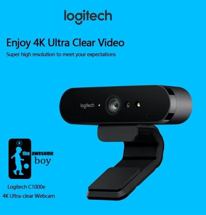 fba7a25980f Harga Jual Logitech C1000E Brio Webcam 5x Zoom 1080p FHD Conference ...