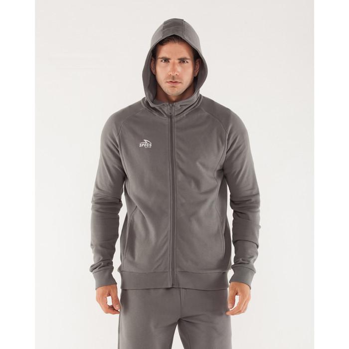 harga Jaket olahraga pria specs full zip hoodie (m) - grey - m Tokopedia.com