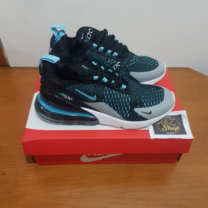 c9dfcddcde Jual Sepatu Nike Airmax Air Max 270 Black Turquoise Premium Original ...