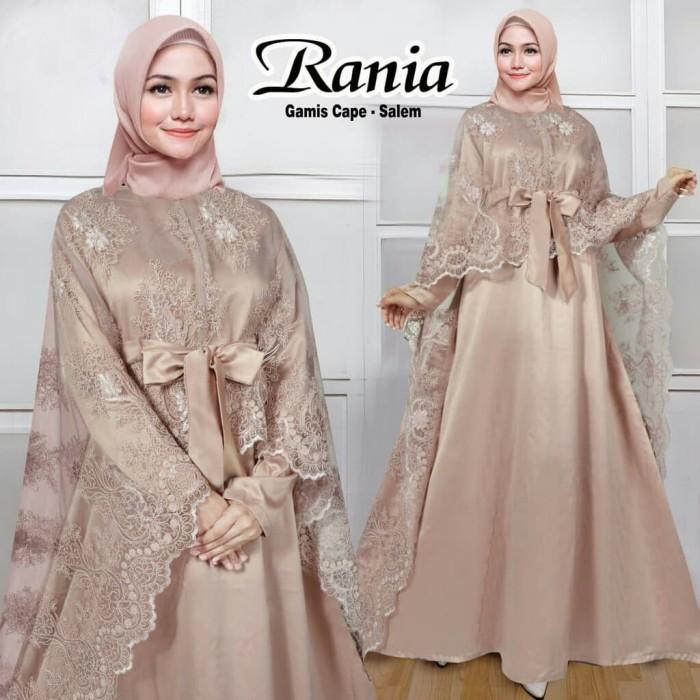 Jual Gamis Pesta Rania Motif A Tulle Renda Bordir Mewah Bestseller Salem Kota Tangerang Selatan Nayya Collection Shop Tokopedia