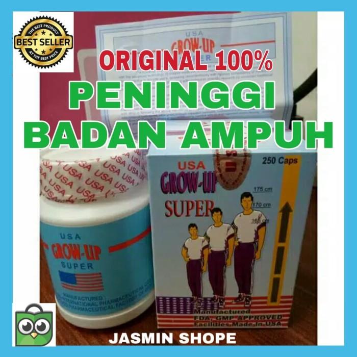 Foto Produk Peninggi Badan Obat Tinggi Badan Alat Peninggi Tubuh Grow Up USA Ampuh dari Jasmin Shope