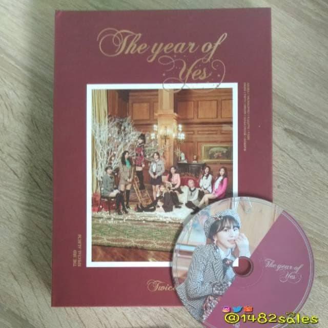 Jual Twice Album - The Year of Yes (Chaeyoung CD) eksklusif - Jakarta Pusat  - Subur bersama | Tokopedia