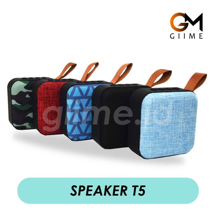harga Speaker bluetooth mini speaker wireless t5 music speaker - Tokopedia.com