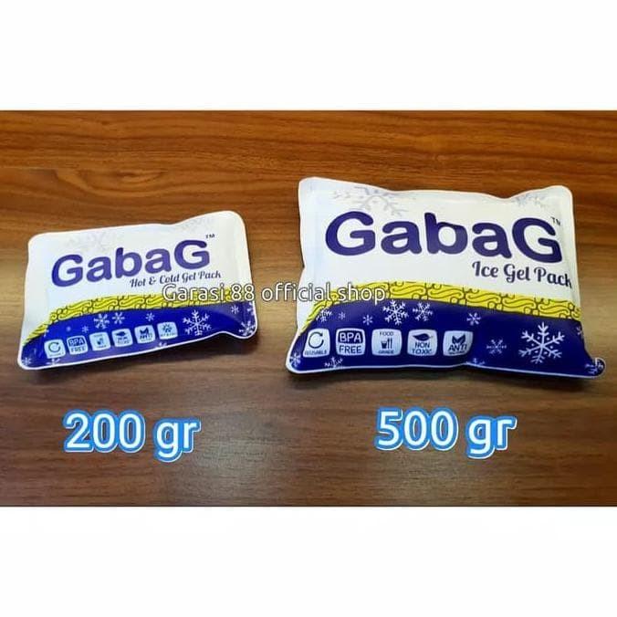 Ice gel gabag 500gram/gel pendingin ASI