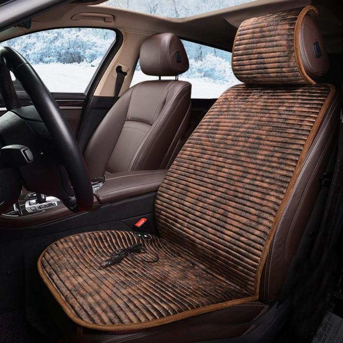 Best Car Seat Covers >> Jual Top Best 12v Heated Flannel Cushion Car Seat Cover Heating Heater Jakarta Utara Auto Started Tokopedia