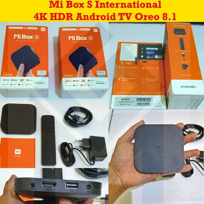 Jual Barang Baru Xiaomi MiBox Mi Box S Mi Box 4 Internasional Android TV -  Kota Malang - Bang Kribo | Tokopedia