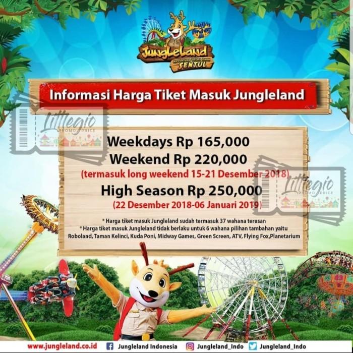 Jual Voucher Hemat Jungleland Sentul Jakarta Selatan Littlegio Tokopedia