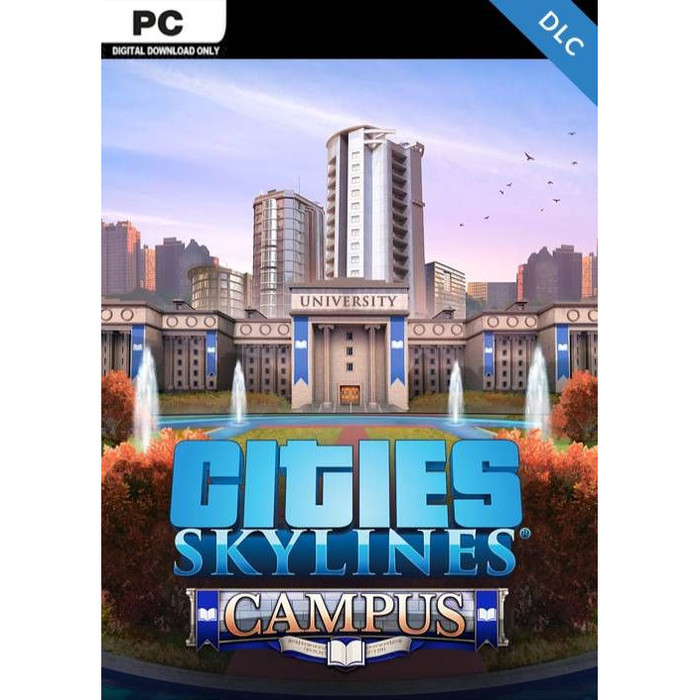 Foto Produk Cities Skylines Campus for PC or Laptop dari WILDANS GAMES