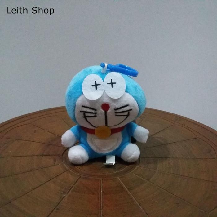 Foto Produk Boneka Doraemon Mata Pusing Gantungan Kunci HP Tas dari LeithShop